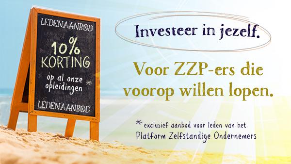 10% korting op lean six sigma trainingen voor leden ZZP-PZO