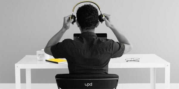 headset bij e-learning